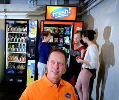Health Food Vending Machines Franchise Impressive Caledonia Man Puts Lowcal Spin On Snacks With Fresh Healthy Vending