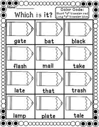 Phonics is knowing what letter (or letter combination) makes what sound and in what context. Short And Long Vowels Phonics Worksheets By Teaching Second Grade