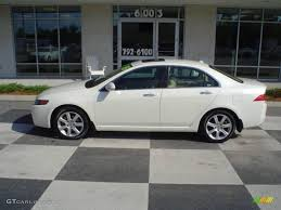 2005 Premium White Pearl Acura TSX Sedan #15394820 Photo #5 ...