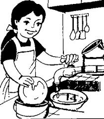 clean kitchen clipart black and white. Delighful White Wasting Water Clipart Black And White  ClipartFest Throughout Clean Kitchen Clipart Black And White N