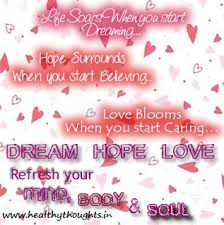 Love Life Dreams Quotes Best of Inspirationalquoteonlifedreamhopelove HealthyThoughts The