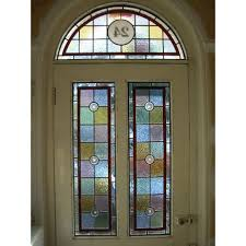 fullsize of idyllic red border stained glass panels uk stained glass panels red border hand made