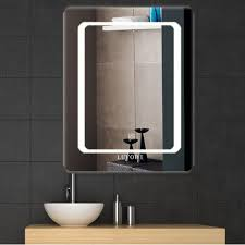 details about vanity wall bathroom bedroom makeup mirror led lighted hang plain mirror 16 x20