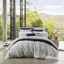Liana Navy Quilt Cover Set By Logan & Mason makes a stunning ... & Quilt cover sets from top brands including Logan & Mason, Ascot and many  others are available in queen and super king size online and in Australia  at The ... Adamdwight.com