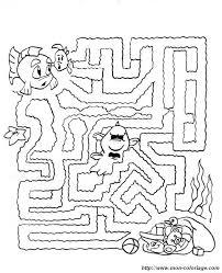 Colorare Giochi Di Labirinto Disegno Labirinto Gioca
