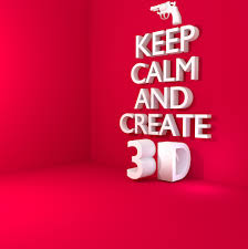 Keep Calm And Design On Keep Calm And Create 3d Ronen08 Flickr
