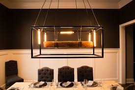 hand crafted wood beam large chandelier framed light with edison bulbs made to order from carroll by design custommade com