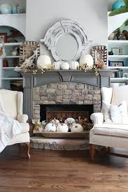 Small Picture 25 best Fall fireplace decor ideas on Pinterest Autumn