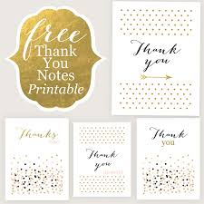Thank You Cards - Free Printable - Jane Blog Jane Blog