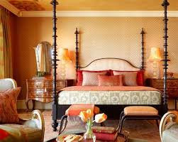 Exotic Moroccan Bedroom with Canopy Bed