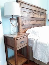 diy rustic furniture. Diy Rustic Furniture Review Wood Headboard And Nightstand P
