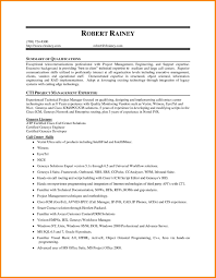 Summary Of Qualifications Examples For Resume Examples Of Resumes
