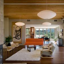 lighting a large room. Mid-Century Modern Pendant Lights Lighting A Large Room L
