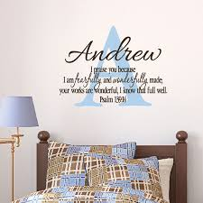psalm 139v14 vinyl wall decal 12