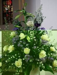 Image result for flower festival church
