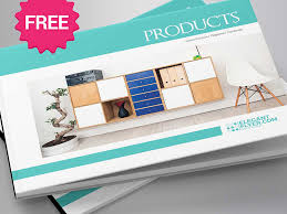 Product Catalog Templates Free A5 Product Catalog Brochure Indd Template By Mockupfree