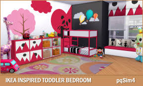 Sims Bedroom Ikea Inspired Toddler Bedroom Sims 4 Custom Content