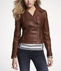 Express (MINUS THE) LEATHER QUILTED MOTO JACKET COLOR: Cognac or ... & Express (MINUS THE) LEATHER QUILTED MOTO JACKET COLOR: Cognac or Espresso  Size: Adamdwight.com