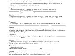 Objectives In Resume For Applying Job Objective Beautiful Jobs