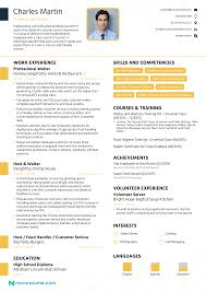 Save your cv as both a word document and a pdf. Waiter Resume Examples Guide For 2021