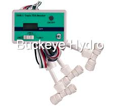 Buckeye Cable Systems Trm1 Tri Inline Tds Meter