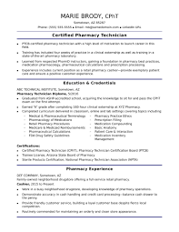 Pharmacy Assistant Resume Sample No Experience Save Entry Level