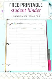 Student Grade Tracker Excel Printable Study Planner 2018 Download Them Or Print