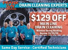 drain cleaning – Frank Gay Services
