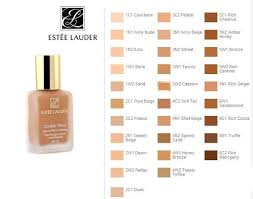 Estee Lauder Double Wear Color Chart Estee Lauder Double Wear Color Chart Best Of Double Wear