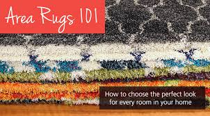 how to choose area rugs from homemakers furniture