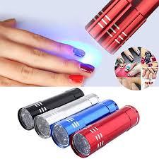 portable mini led uv gel l light