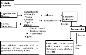 Bioprocess Flow Chart Recent Advances In Citric Acid Bio Production And Recovery