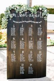 Wedding Seating Chart Ideas Pinterest 128 Best The Prettiest Seating Charts Images In 2019