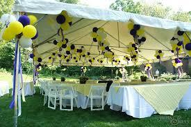tent decorations party decorations