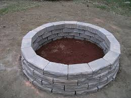 inspirational home depot fire pit blocks how to build a fire pit