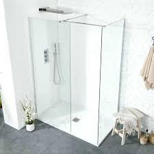 aquaglass shower door plus walk in shower inc slimline tray aqua glass shower door parts aquaglass