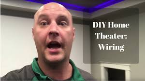 my diy basement home theater movie room part 2 wiring youtube diy home theater wiring at Diy Home Theater Wiring