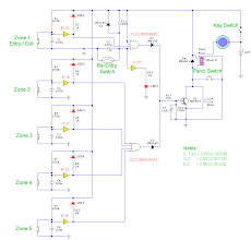 home security system wiring diagram and build a 5 zone alarm Burglar Alarm Systems Wiring Diagrams home security system wiring diagram and build a 5 zone alarm circuit diagram gif burglar alarm systems wiring diagrams