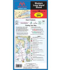 Waterproof Charts 16 Maptech Wpc016 Western Long Island Sound Waterproof Chart 4th Edition 2019