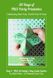 Free Printables St Paddy's Day Cootie Catchers - Party Ideas | Party ...