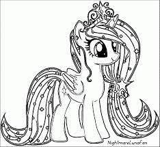 Small Picture Coloring Pages Pony Cartoon My Little Pony Coloring Page Projects