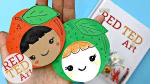 kawaii apple bookmark diy how to make a corner bookmark red ted art