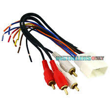 supra wiring harness aftermarket car stereo radio wiring harness toyota 8112 wire adapter plug fits