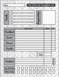 free food journal template 23 free printables to organize your familys health spaceships and