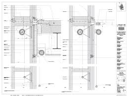 a2 503 5 curtain wall type 3 section details