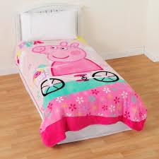 Peppa Pig Bedroom Accessories Nickelodeon Peppa Pig Plush Blanket Home Bed Bath Bedding