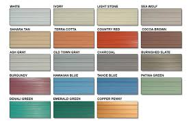 colored sheet metal welcome to icc sheet metal color specscarports garages sheds barns