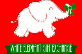 white elephant christmas. Modren White 450x300whiteelephantpartyclipartelephantchristmasetsy To White Elephant Christmas S