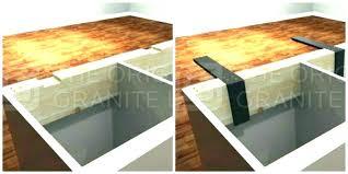countertop overhang support brackets overhang support support for granite island overhang how far can granite overhang countertop overhang support