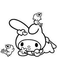 Small Picture My Melody Coloring Pages Fantasy Coloring Pages my melody